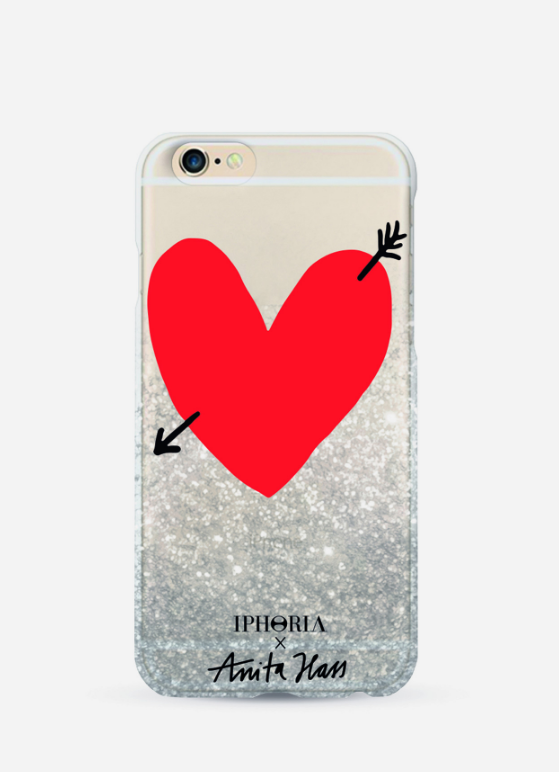 iPhone Case by Iphoria x Anita Hass Glitter Heart (45 €)
